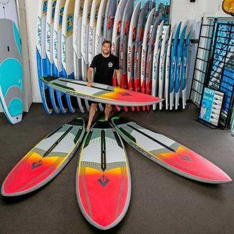 WATCHING: The Surfboard Warehouse owner Tim Beban.