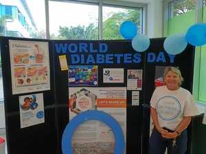 Long walk to diabetes awareness