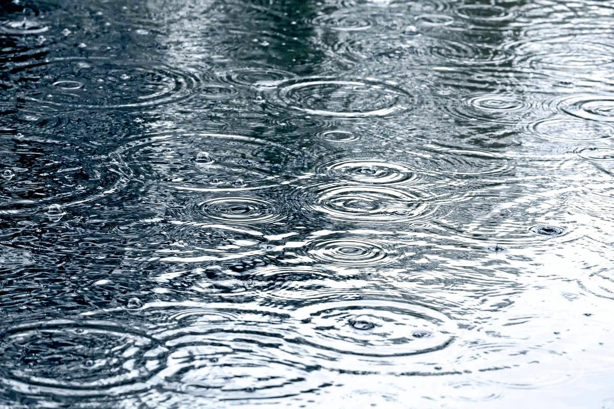 FLEETING: Don't expect the rainfall to record at any rain gauge.