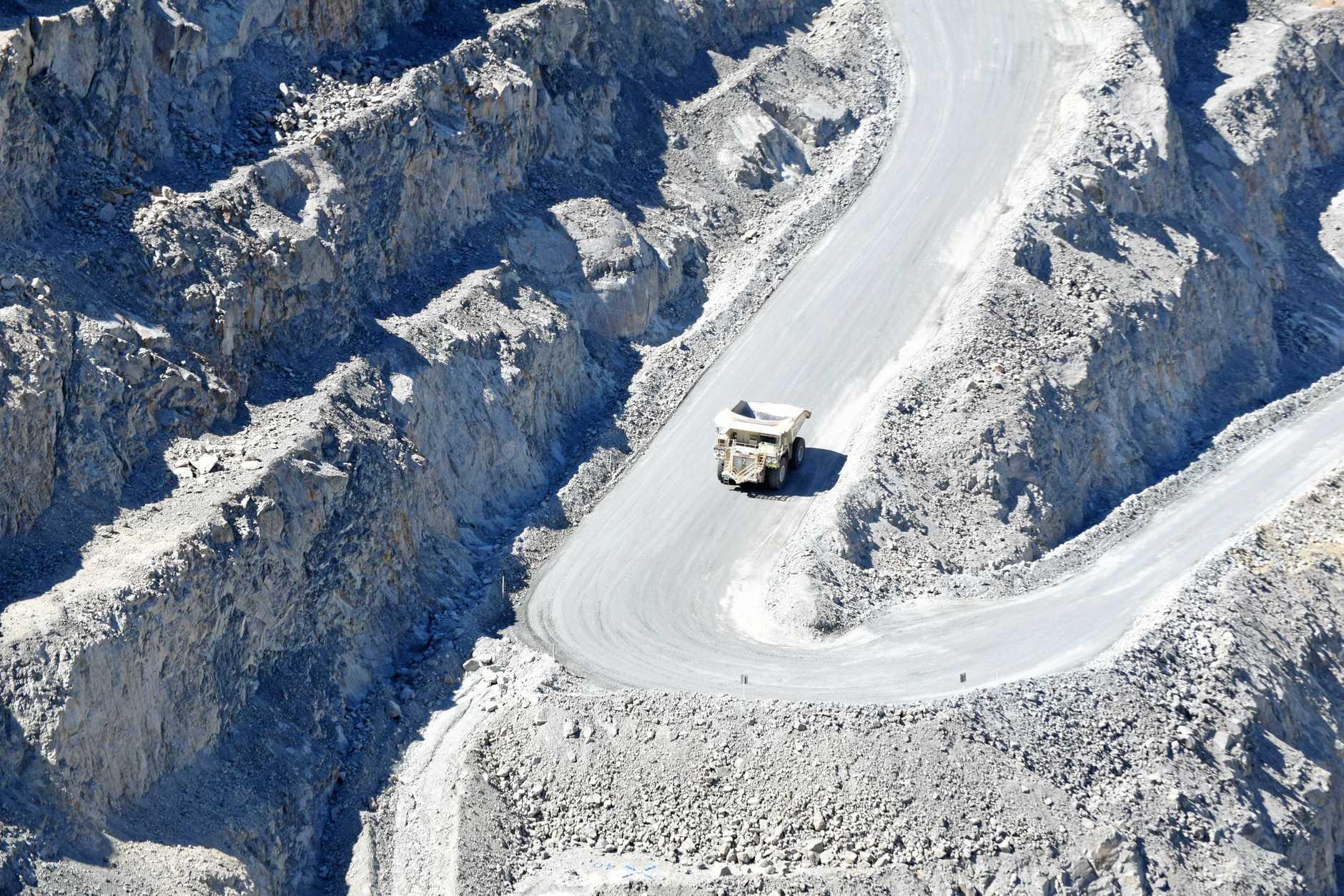 A look at Mt Rawdon mine.