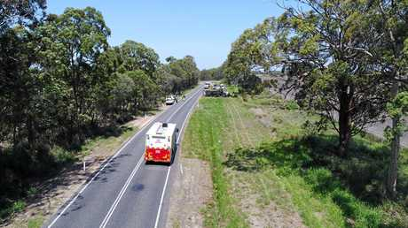 DEADLI STRETCH: The road to which Bundaberg and Gin Jin join have confirmed the life of 17 people since 2001.