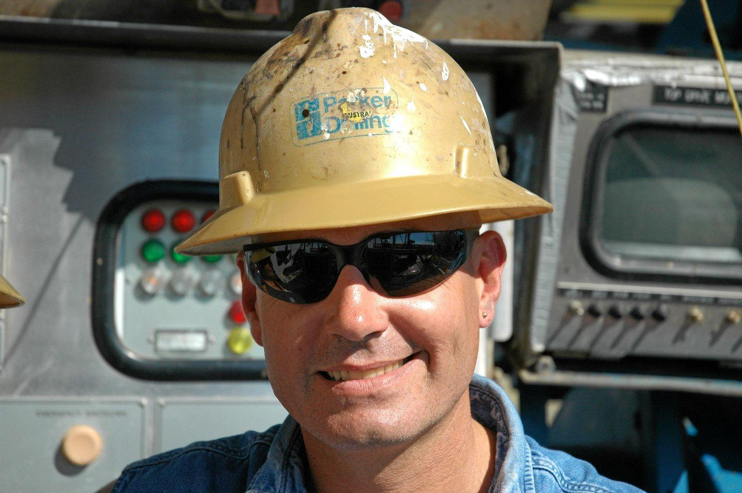 Buddina resident Pat Ahearn's career in oil drilling has taken him around the world.
