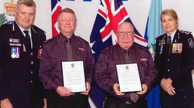 Bomb-locating Safe City operators receive police award