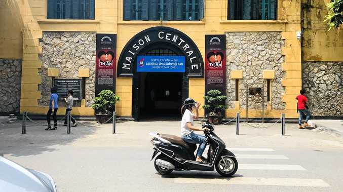 The infamous Hanoi Hilton in Vietnam.