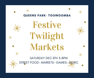 Christmas Twilight event- Food, music, markets, relaxed vibe, kids activities, Christmas Fun