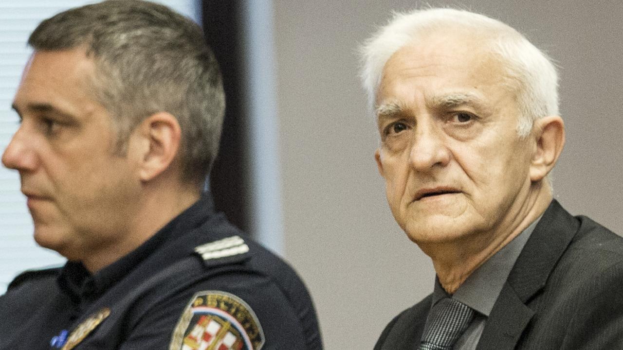 Dragan Vasiljkovic, former Serb paramilitary commander. Picture: Ella Pellegrini