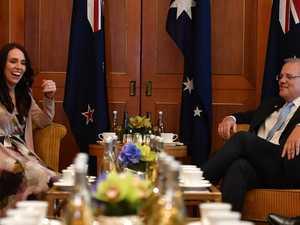 Jacinda Ardern raises sausage sizzle scandal with ScoMo
