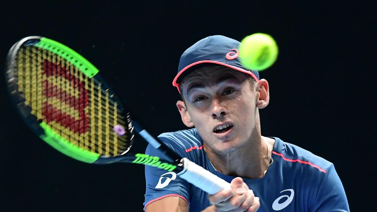 Alex De Minaur has announced he'll start his season at the Brisbane International.