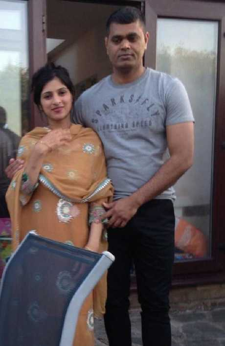 Imtiaz Muhammad and Sana had been a couple for seven years. Picture: Facebook
