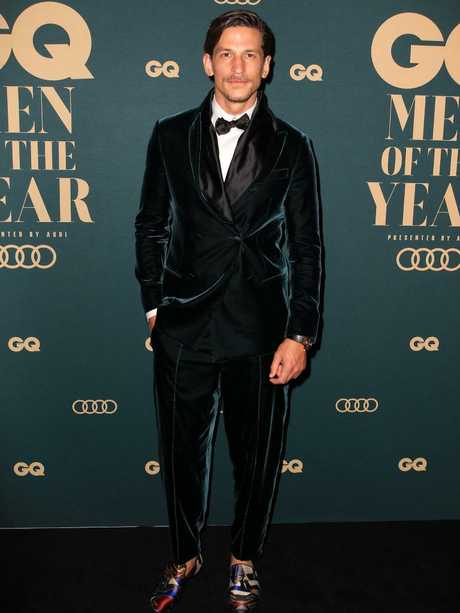 Jarrod Scott at the GQ Men of the Year Awards. Picture: Christian Gilles
