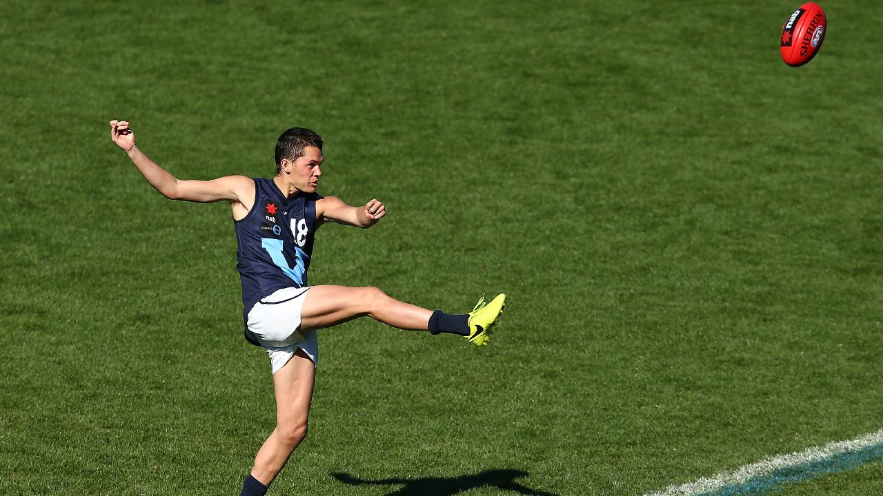 Curtis Taylor in action for Vic Metro. Picture: Getty Images