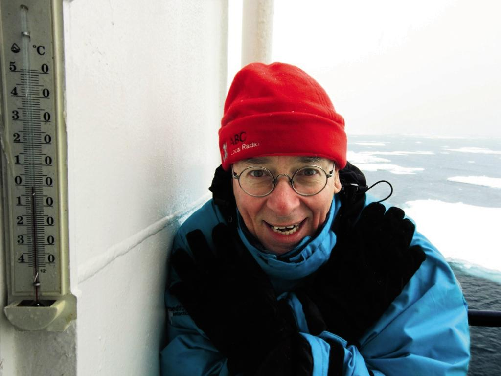 Dr Karl Kruszelnicki is escorting an an 11-day Antarctic cruise with World Expeditions from November 24.
