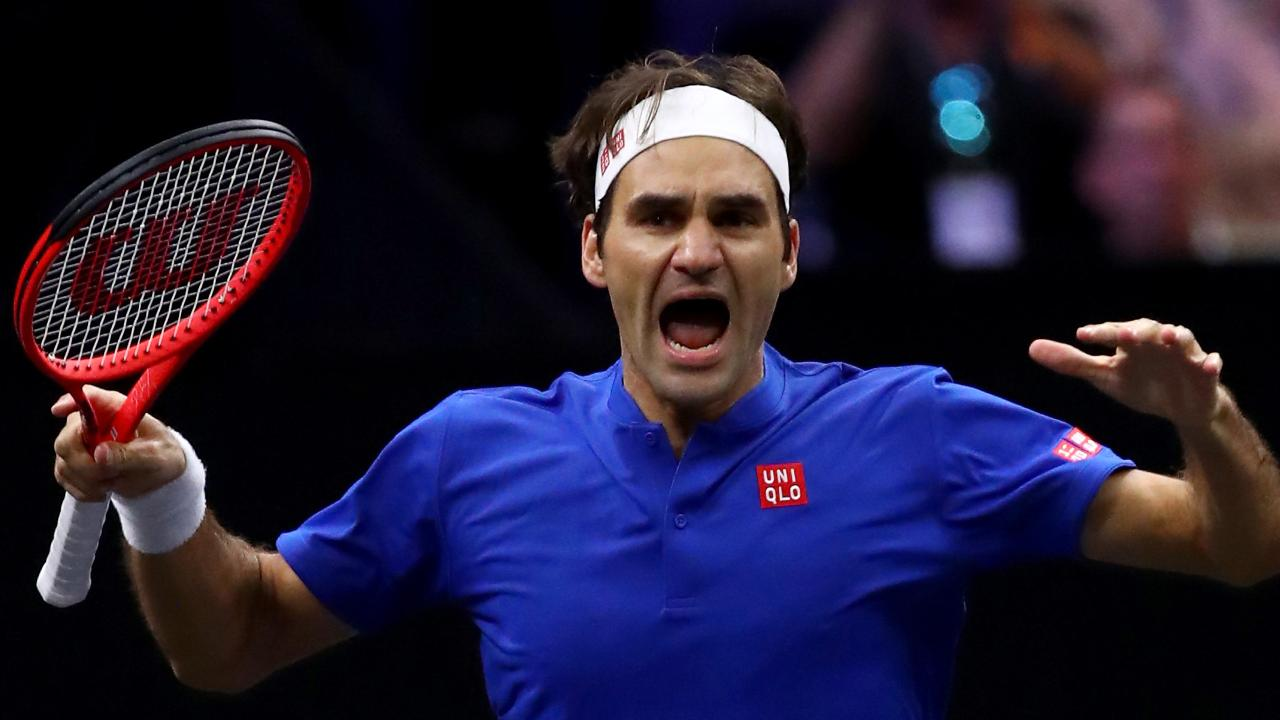 Roger Federer's management group is a Laver Cup partner.