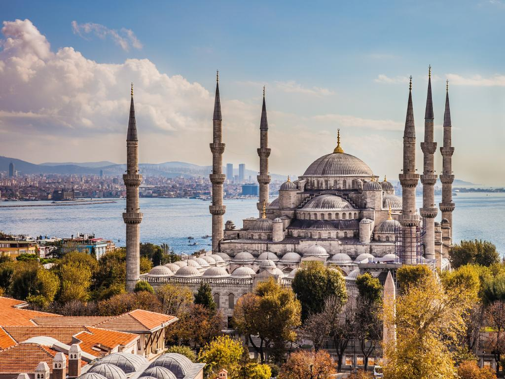 The Blue Mosque is Istanbul's most iconic landmark.