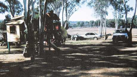 The farm property of the Colt family.