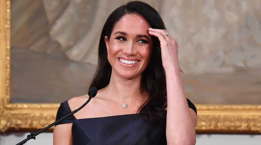 Meghan Markle, the Duchess of Sussex, won't be opening presents on Christmas Day. Picture: AAP Image/AFP Pool, Marty Melville