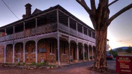 This entire hotel is up for grabs. Picture: Facebook @Bethungra Hotel B&B