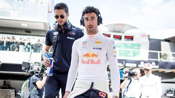 Daniel Ricciardo echoed Sebastian Vettel's complaints.