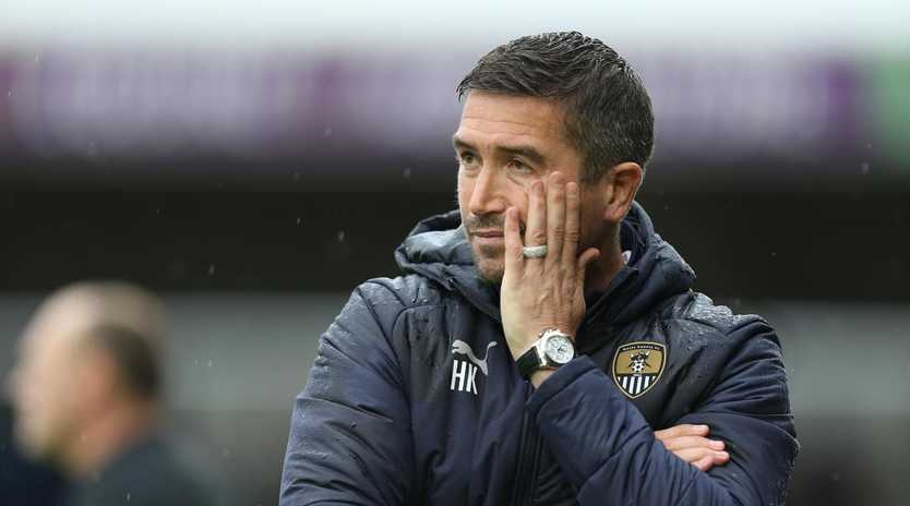 Harry Kewell has been sacked by Notts County. Picture: Getty Images