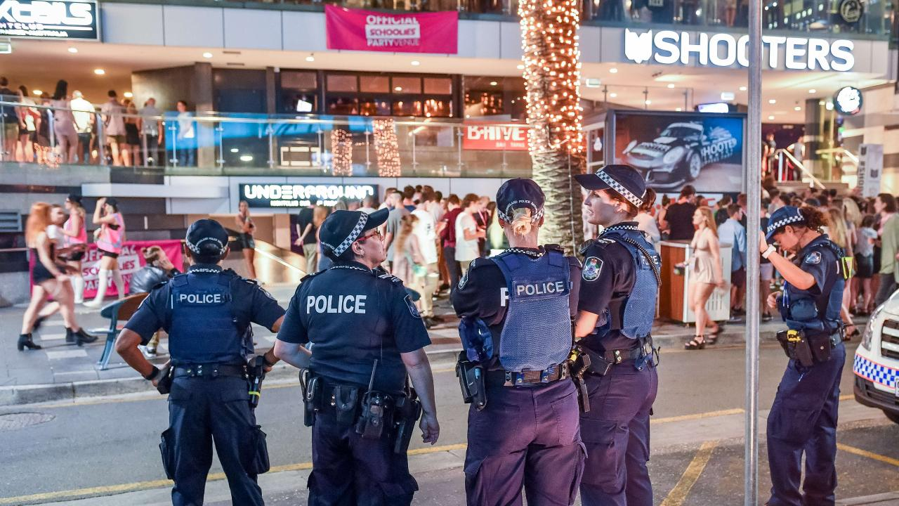Police are gearing up for this year's Schoolies on the Gold Coast. File picture: Jake Nowakowski