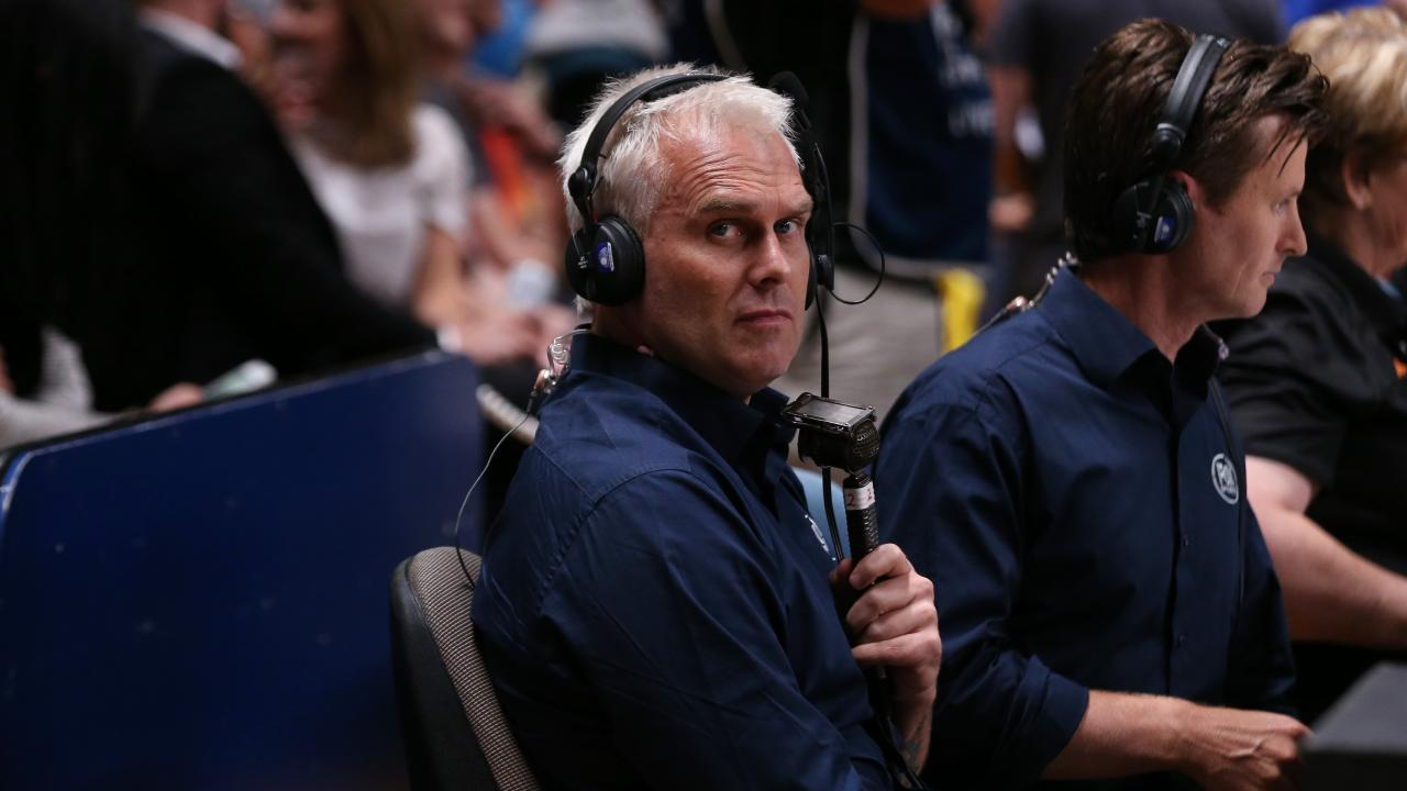NBL Legend and Fox Sports' commentator Shane Heal has had enough. Picture: Dylan Coker
