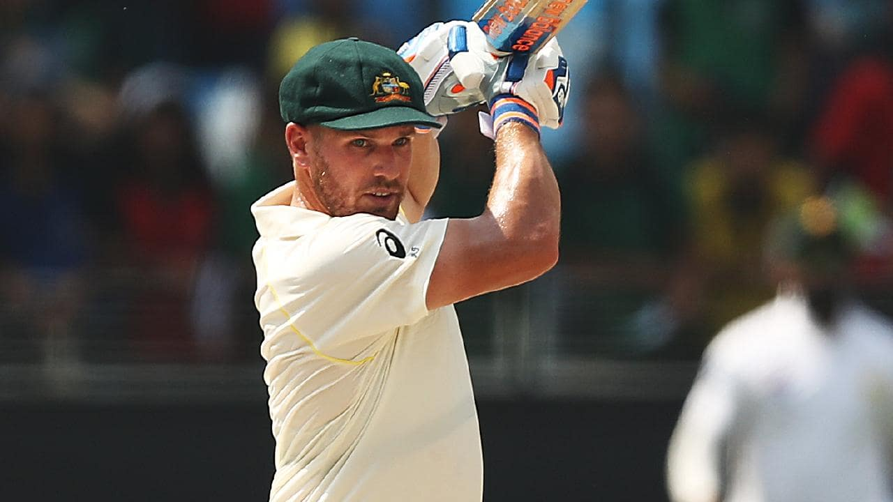 Aaron Finch is shuffled down the order.