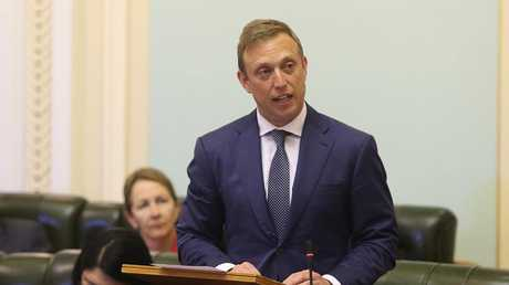 Health Minister Steven Milessaid the report showed Queenslanders were now less likely to die early from preventable diseases. Picture: AAP/Richard Waugh