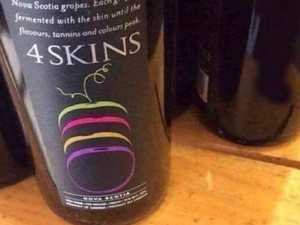 Shock at X-rated wine label