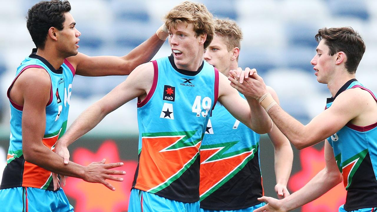 Nick Blakey is a member of the Sydney Swans Academy. Picture: Getty Images