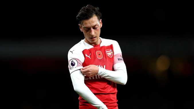 Mesut Ozil reportedly turned down some big-money offers to stay at the Emirates. Picture: Getty Images