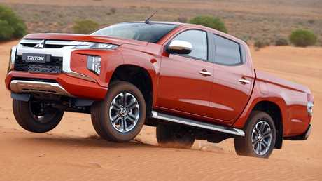 Mitsubishi helped tuned the Triton's off-road pedigree in Australia.
