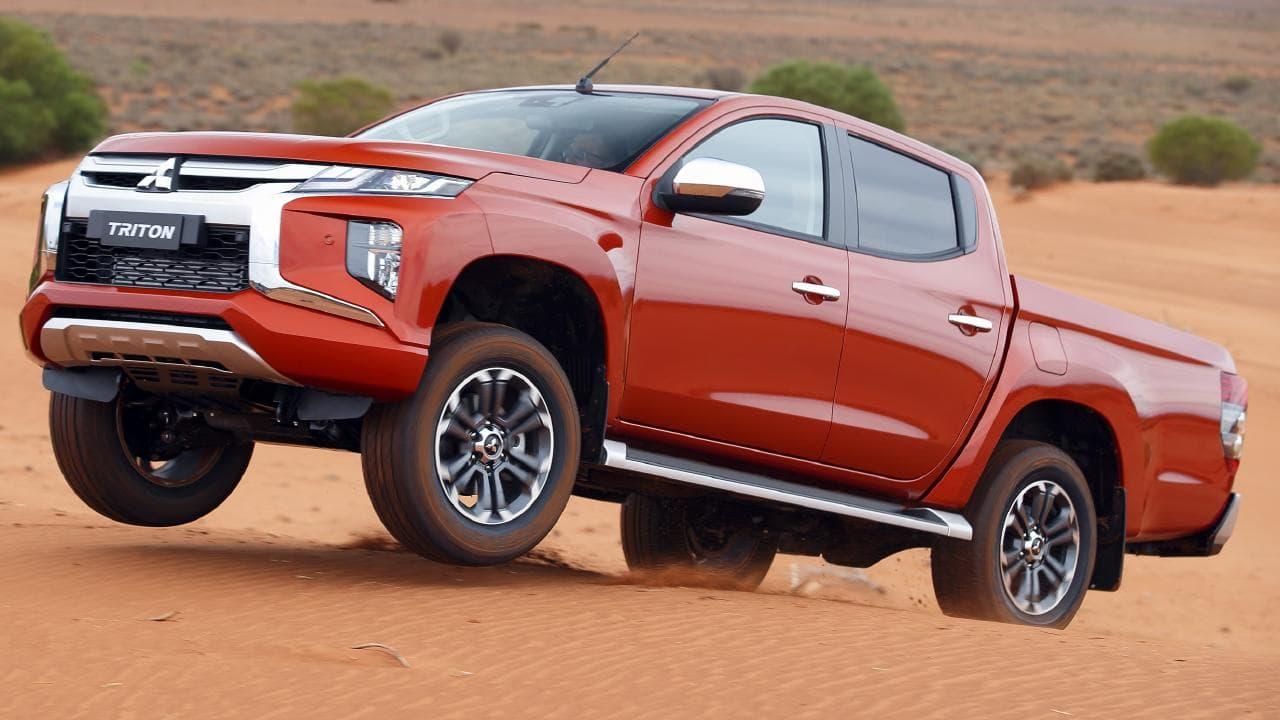 Mitsubishi helped tuned the Triton's off-road pedigree in Australia.