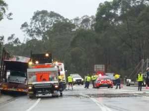 Truck driver dead after two trucks collide in Sydney