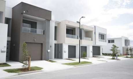 An artist's impression of what homes in the Northgate Vista development would look like.