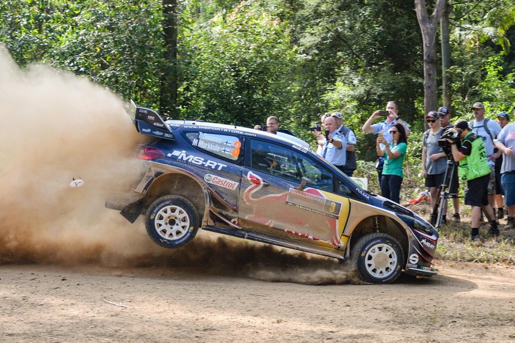 WRC 2018Kennards Hire Rally Australia Shakedown at wedding bells rally park, M-SPORT FORD WORLD RALLY TEAMTeemu SUNINEN , and co-driver, Mikko MARKKULA , ford Fiesta WRC from Finland.. 15 NOV 2018
