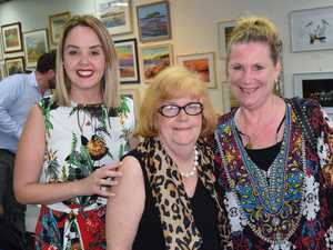 Jess Hansen, Pam Garven and Nessy Eyles at Colours of