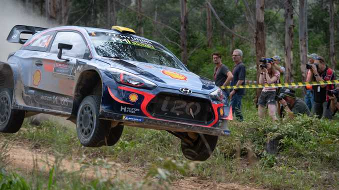 Scenes from Kennards Hire Rally Australia