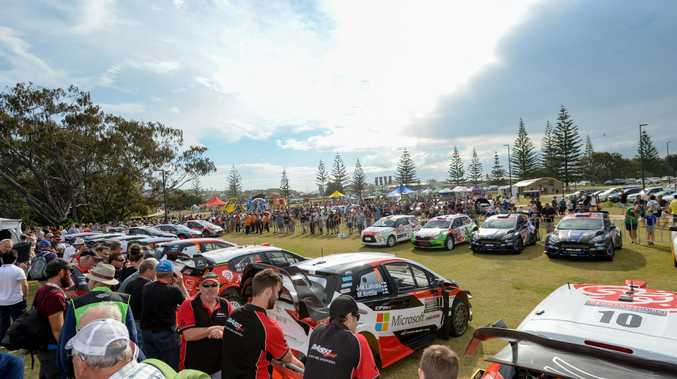 WRC Rally Ceremonial Start