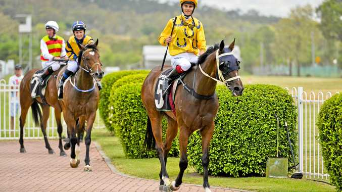 PATH TO PROGRESS: Jockeys and trainers will have improved facilities to enjoy when the Ipswich Turf Club redevelopment takes shape next year.