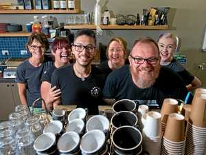 Thriving cafe delivers a new service