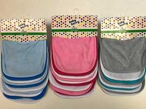 RECALL: Popular baby bibs choking hazard