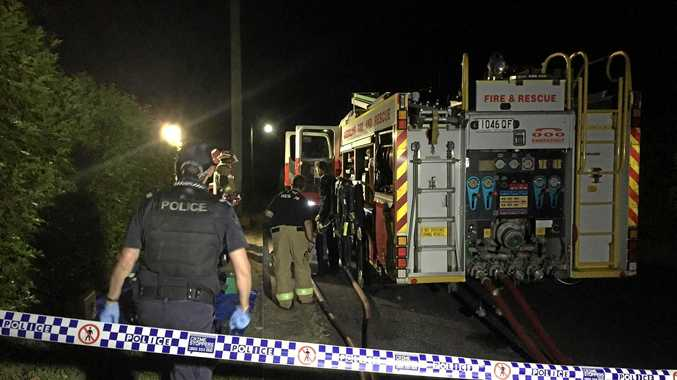 Gympie houses evacuated, man to hospital over unknown fume