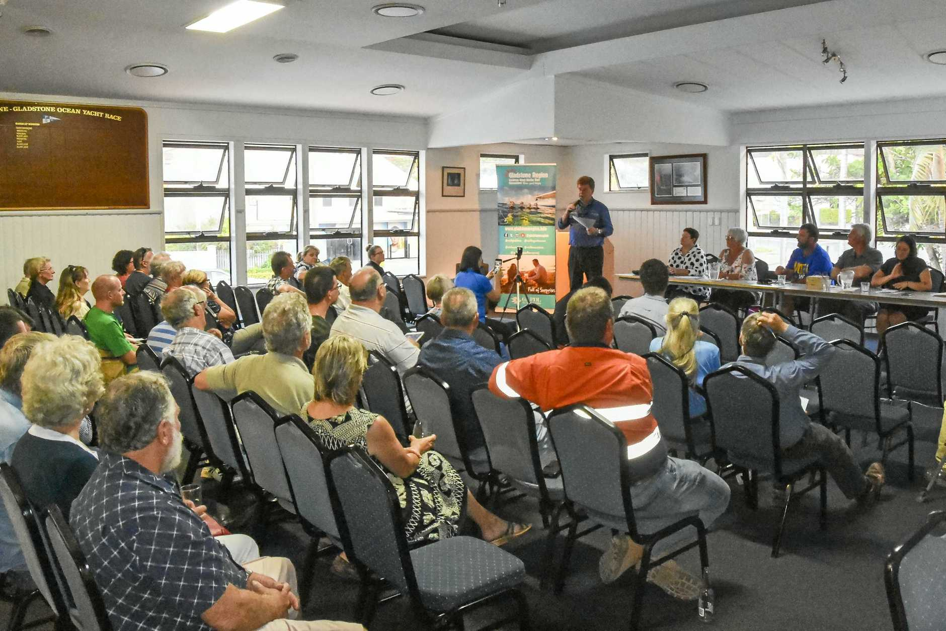 GAPDL held a meet the candidates event ahead of the Gladstone Regional Council by-election
