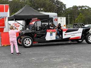Rally Australia service park