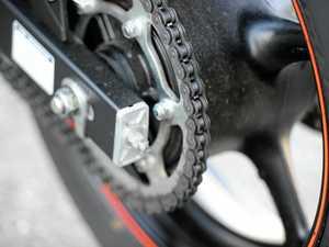 Motorbike rider clocked almost 70km over limit