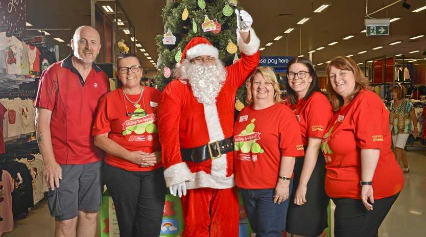 K-Mart Wishing Tree Appeal Launch.