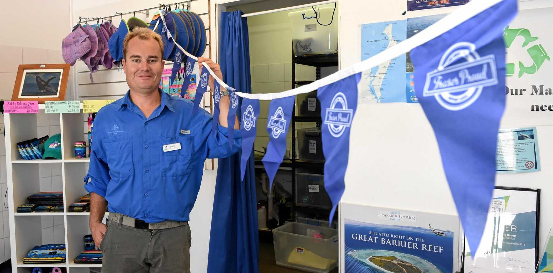 PROUD LOCAL: Scott Whitcombe from Pacific Whale Foundation is Fraser Proud.