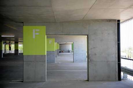 The new Rockhampton Hospital car park.
