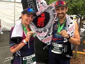 Healthy competition drives married pair in Hamilton Tri