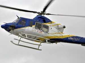 Man airlifted after snake bite on Fraser Island